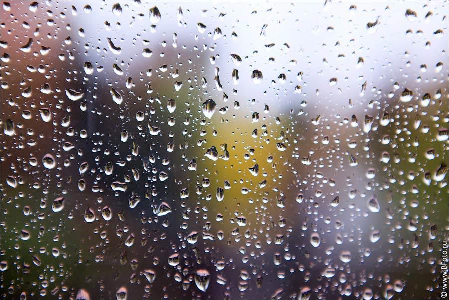 Как сделать капли на окне