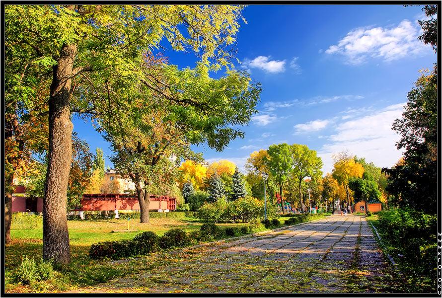 Осень, октябрь Липецк