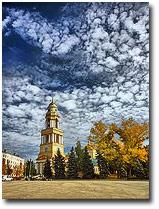Город, архитектура, церкви