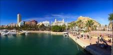 Панорама порт Аликанте, Испания