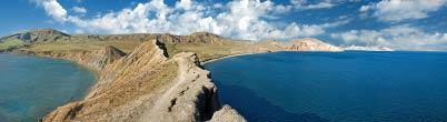 Панорама Крым и черное море