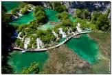 Туристический маршрут на плитвицких озерах