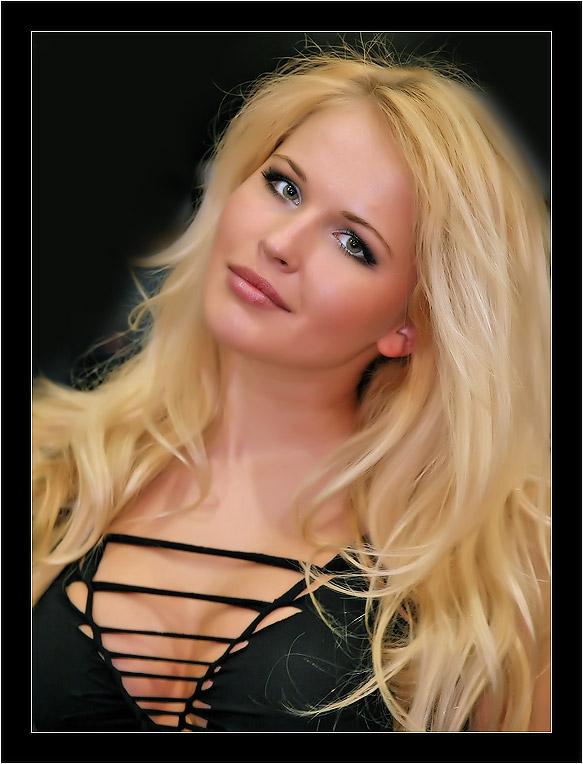 фото девушка русская блондинка