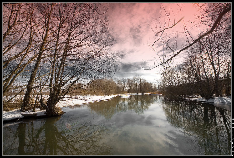 Пейзаж пейзаж природа весна река
