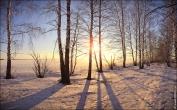 Конец зимы, март, вечер