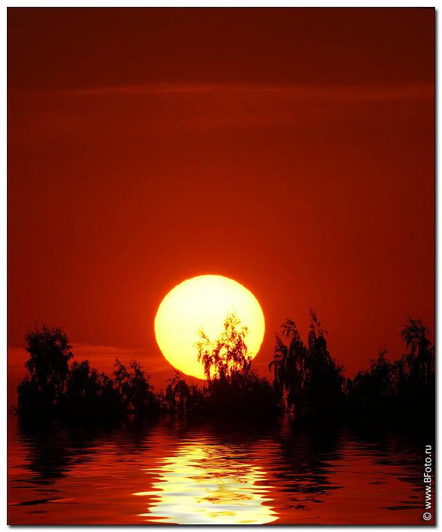 Картинки восход солнца летом