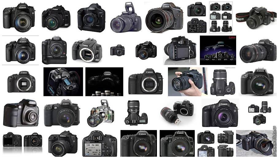 Цифровые фотоаппараты Canon EOS 550D, 60D, 7D, 5d mark 2