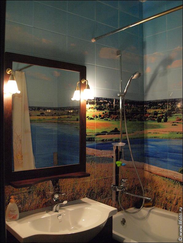 USPA16RDRIA Фотоплитка для ванной комнаты на заказ