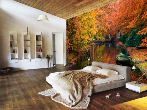 2010 фотообои на стену фотобанк 2010 Живые фотообои в вашей квартире