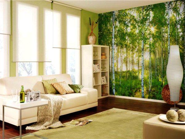Дизайн комнат с фотообоями фото