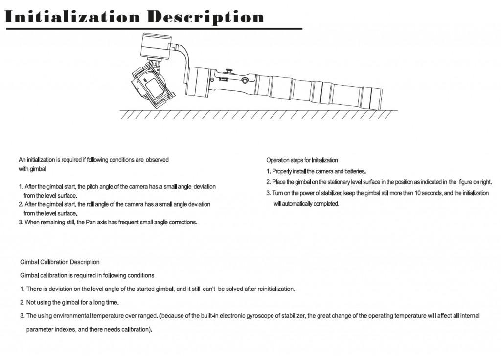 стабилизатор Zhiyun Z1 1024x728 3 х осевой электронный стабилизатор Zhiyun Z1 Pround для камеры GoPro 4 Silver