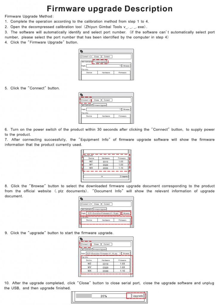 Firmware ZhiYun Z1 724x1024 3 х осевой электронный стабилизатор Zhiyun Z1 Pround для камеры GoPro 4 Silver