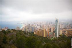 benidorm spain alicante 0021 250x167 Путешествие по Испании, Бенидорм, горы, природа, море