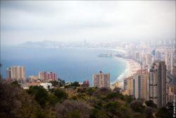 benidorm spain alicante 0023 250x167 Путешествие по Испании, Бенидорм, горы, природа, море