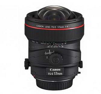 canontse17mmf4l Новый Canon TS E 17mm f/4L объектив Tilt Shift