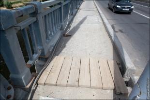 img 3679 310x207 Саратовский мост через Волгу в плачевном состоянии