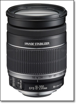 noviy obektiv canon efs mm f is 0 Новый объектив Canon EF S 18 200mm f/3.5 5.6 IS