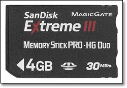 superskorostnie karti pamyati sandisk dlya kamer sony 0 Суперскоростные карты памяти SanDisk для камер Sony